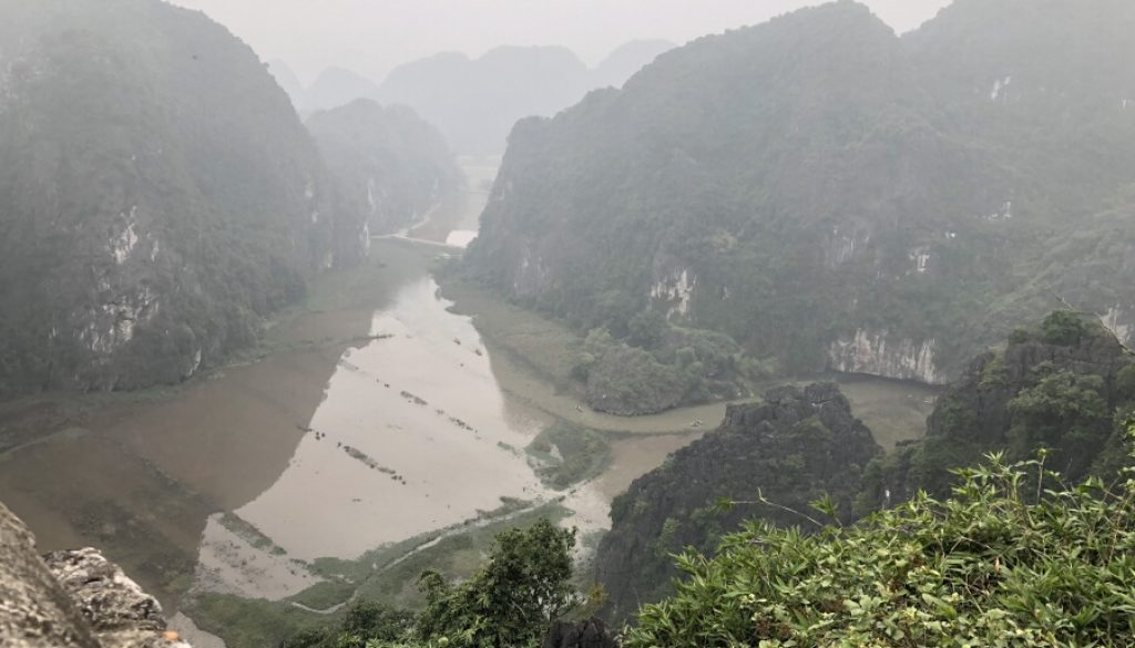 "Ninh Binh – die ""trockene Halong – Bucht"""