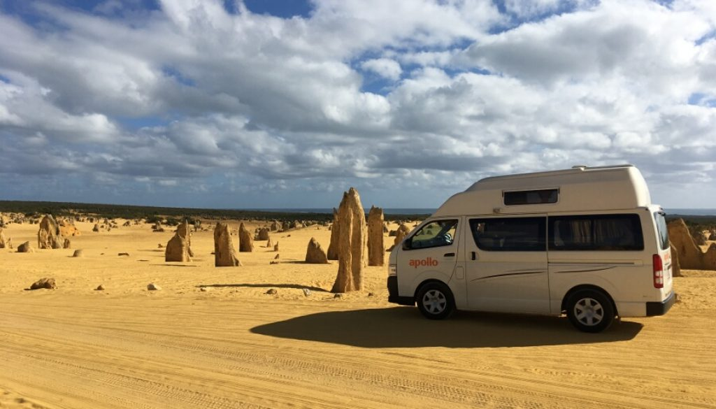 Roadtrip I – Cervantes und die 'Pinnacles'